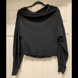 Free People Off the Shoulder Dolman Sweater